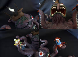 8 Armed Willy details by Bakenekoya