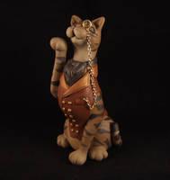 Super snooty cat - Tabby by Bakenekoya