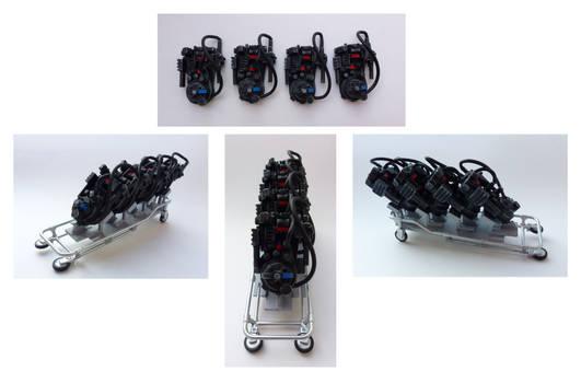 Miniature Proton packs
