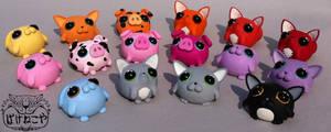 Pigglypogs by Bakenekoya