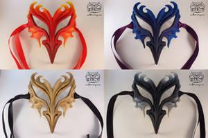 Phoenix mask by Bakenekoya