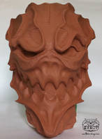 Mask making part 1 by Bakenekoya