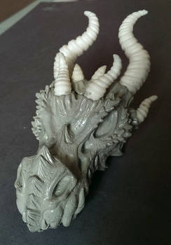 Dragon skull WIP