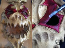 Mask making part  23 by Bakenekoya