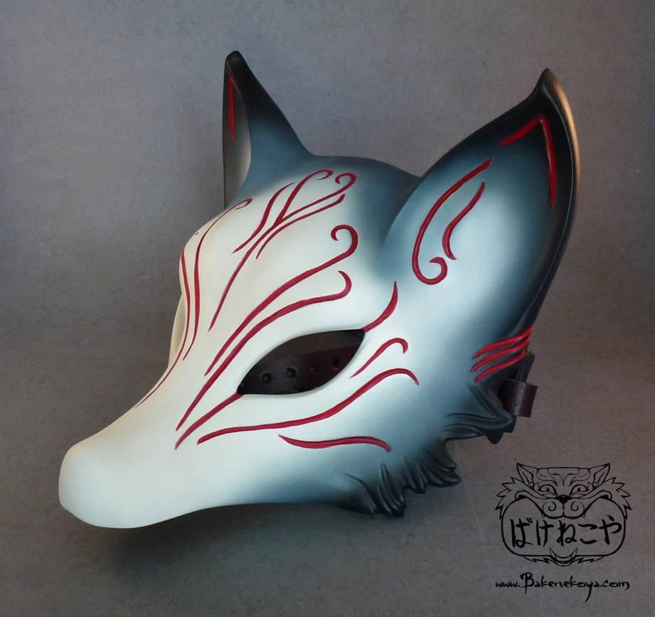 Kitsune mask by Bakenekoya