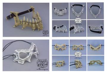 Dragonlord and Demon Skull Masks