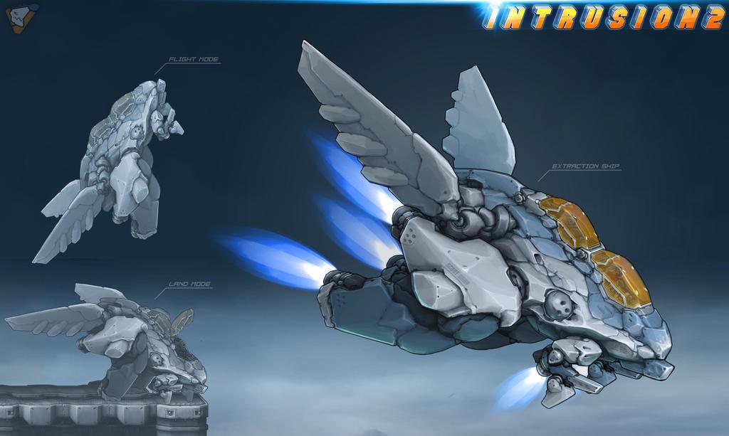 intrusion 2 escape ship by vapgames on deviantart