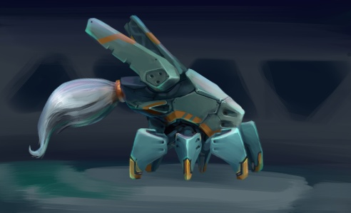 Fancytailhexapod by vapgames