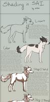 SAI [fur] Shading Tutorial by pipamir
