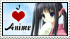 I love Anime stamp by Suzanne98