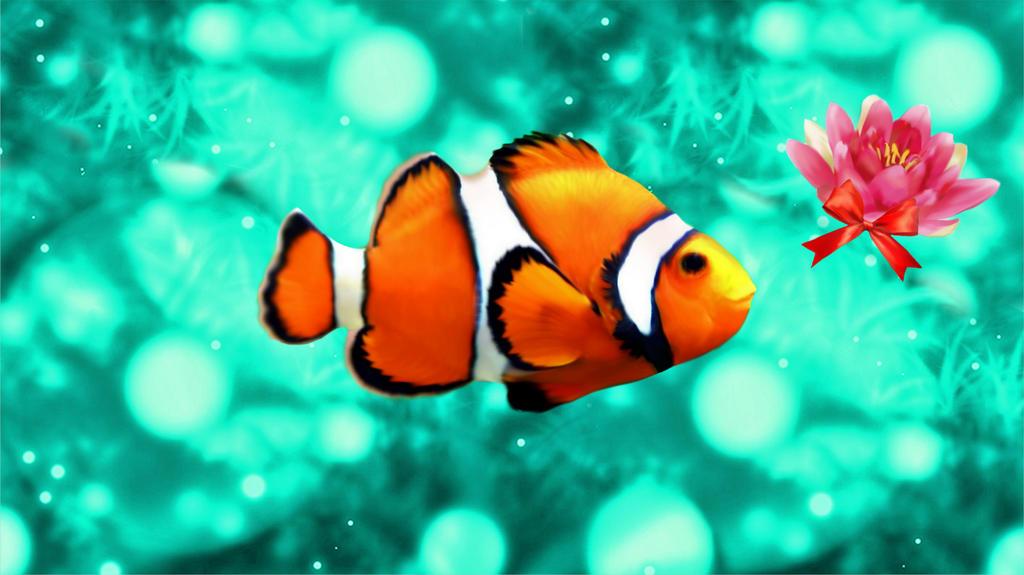 Sweet Fish by cutecolorful