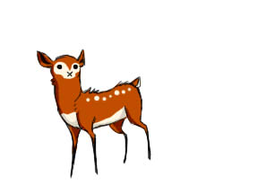 little fawn by snowowl24