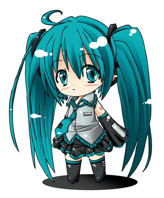 Chibi Miku By Sumoka On DeviantArt