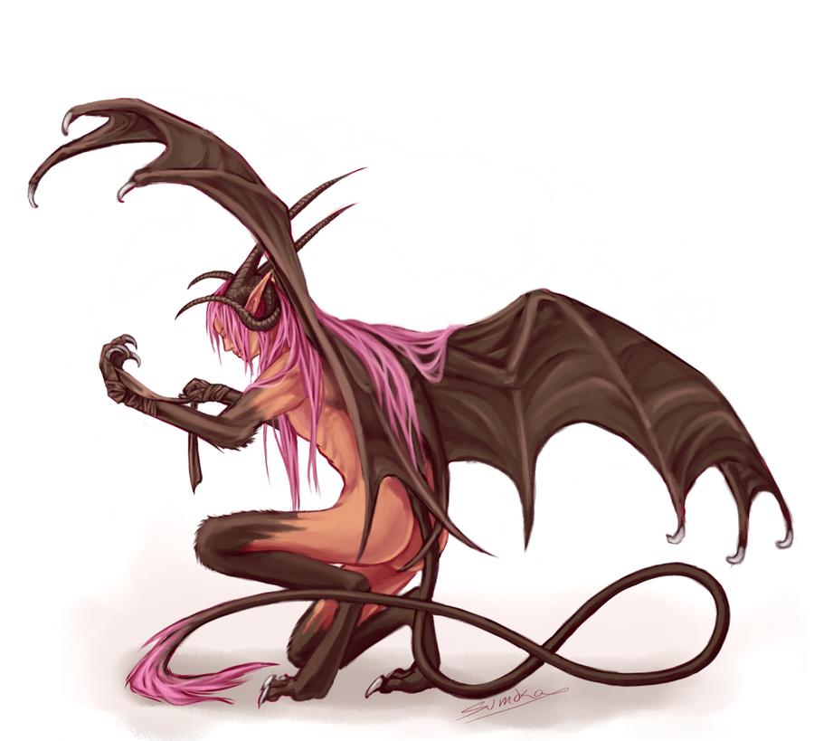 Half human half dragon male