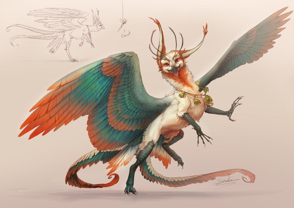 Gryphon (closed) by Sumoka on DeviantArt