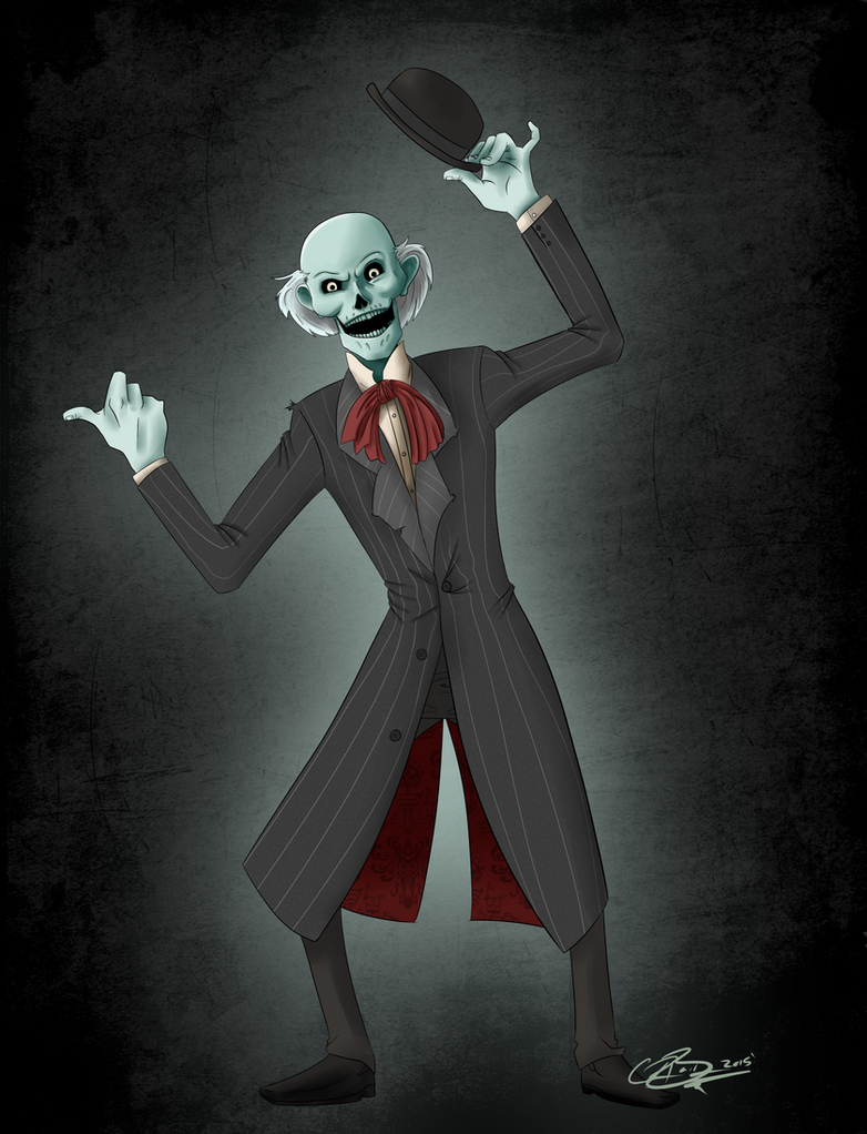 Hitchhiking Ghosts Ezra by CRBaird