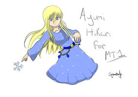 Ayumi Design for Mikeithoria 1 by GhoulMage