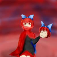 [ART TRADE] Sekibanki - Niyu by GhoulMage