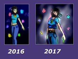 Draw it again - Cristalfumbi (2016/2017) by GhoulMage