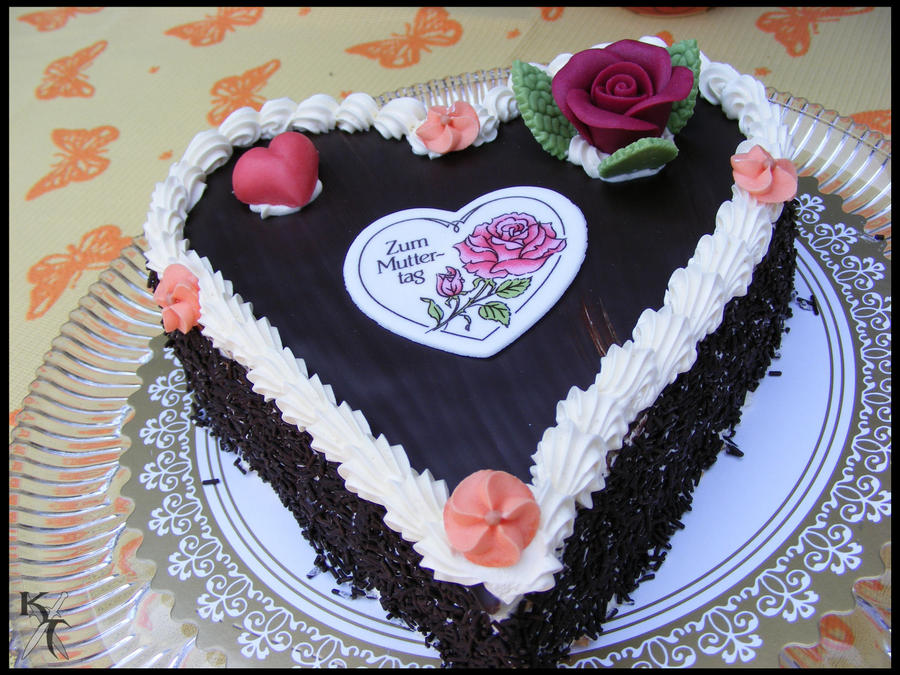 Mother Days Cake by Katana-Tate