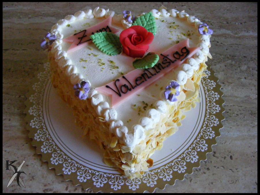 Valentines Cake by Katana-Tate