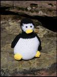 Crochet Works - Tux von Linux