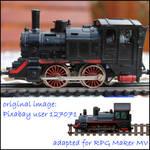 Adapting locomotive image for RPG Maker MV tileset