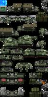 Military Vehicle Tileset - RMMV RTP Edits