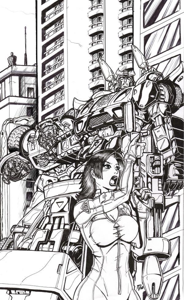 Marissa Fairborn - IDW Cover by GANTZRUNNER