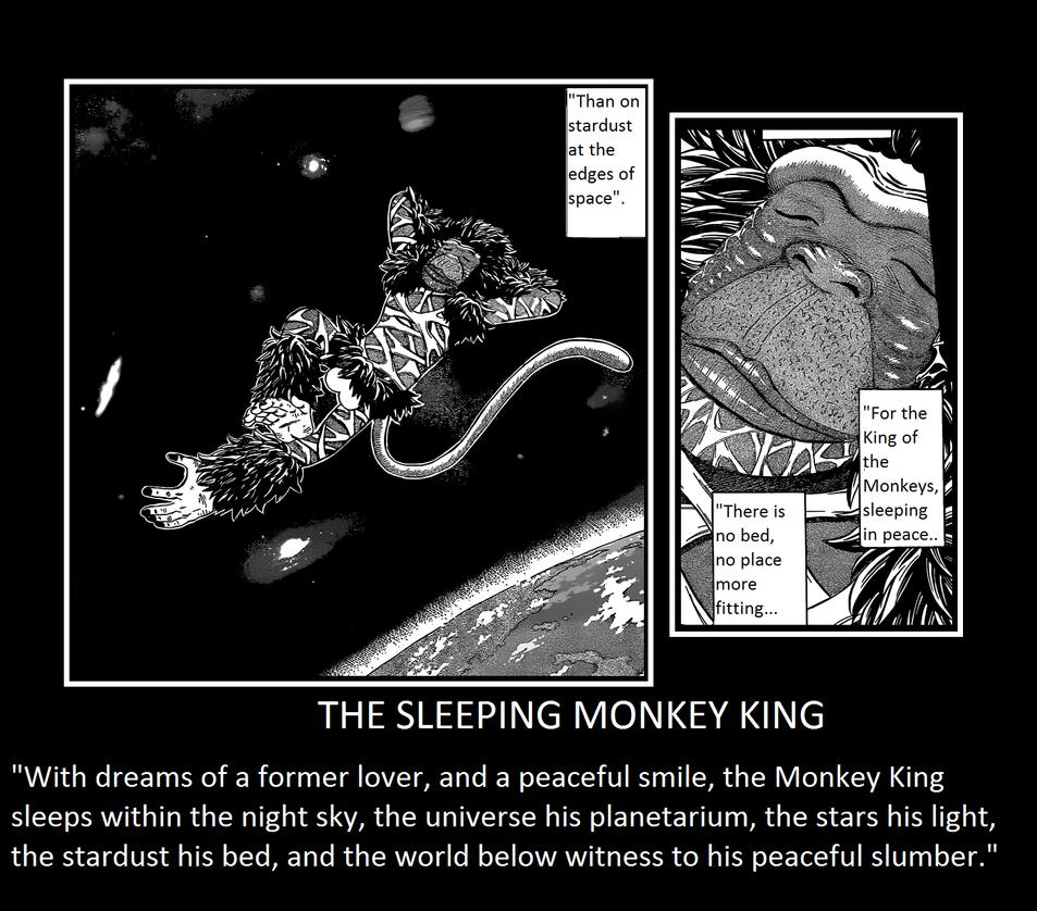 The Sleeping Monkey King By Saiyan5Nine-Tails On DeviantArt