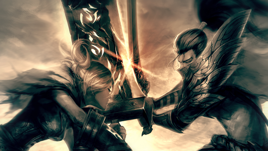 Riven Yasuo By L0rduck