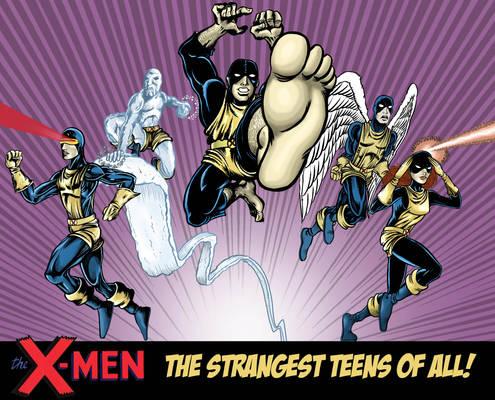 Jack Kirby's X-MEN - 50th Anniversary