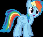 Vector #7 -  Rainbow Dash #1
