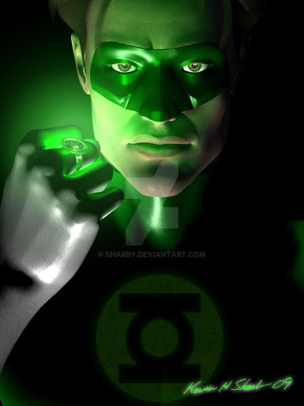 Green Lantern by Sharby