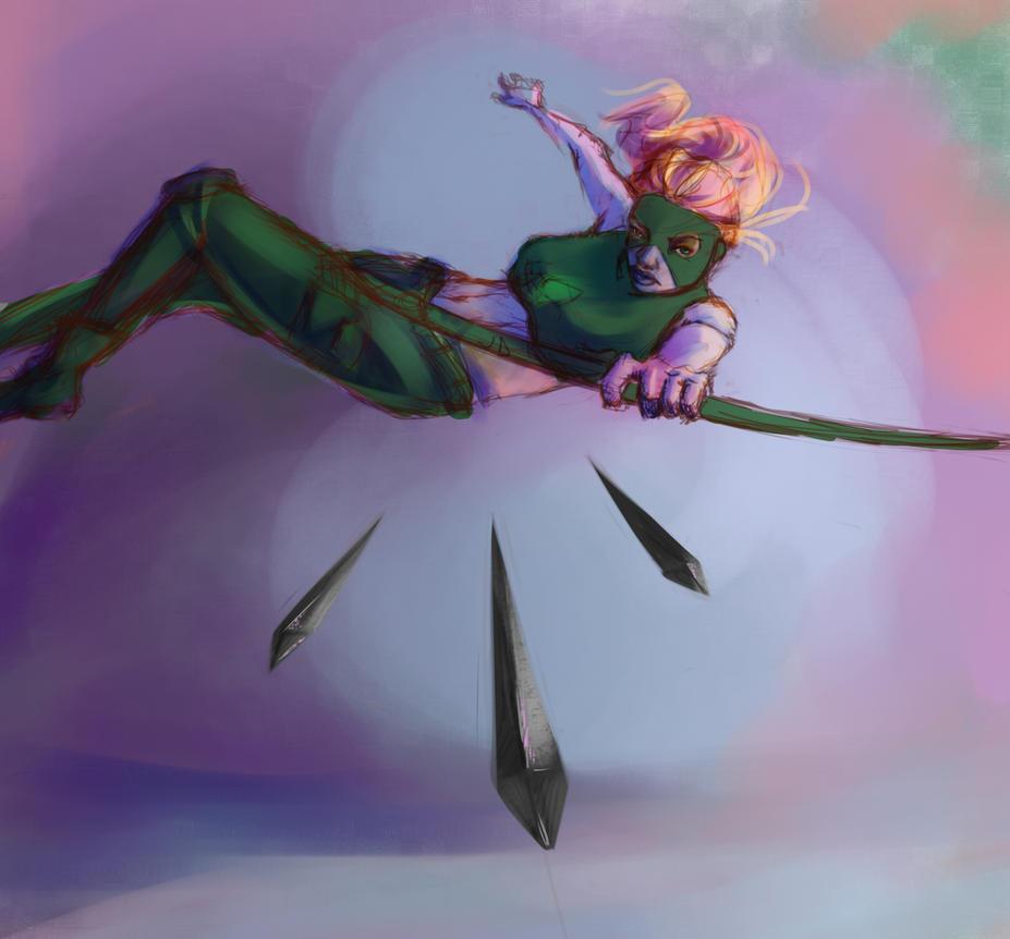 Fly Like an Artemis by jurodo