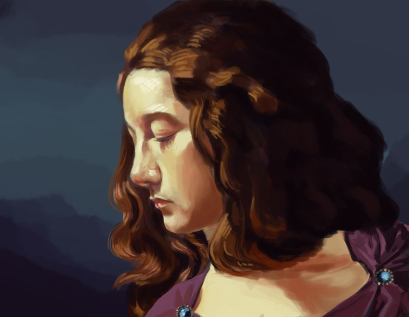 Digital Painting by jurodo
