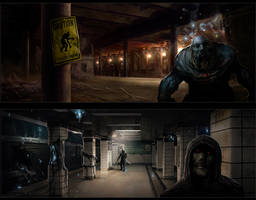 Subway Levels by sourgasm
