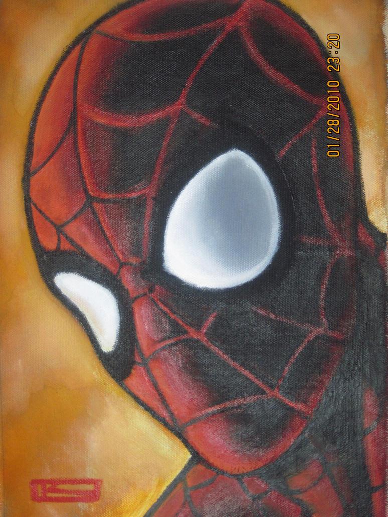 Spider man portrait 2 by ~jsmit902 on deviantART
