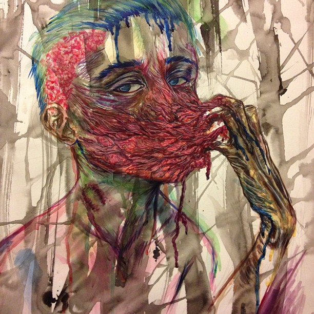Shredded - detail by PinkyLemon