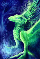 Earth Dragon i by maggock