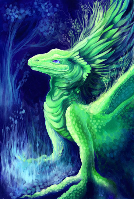 Earth Dragon i by maggock on DeviantArt