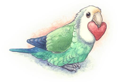 Lovebird V-Day by maggock