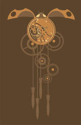 Clockwork Ladybug by maggock