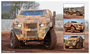 Scorpion MRAP APC