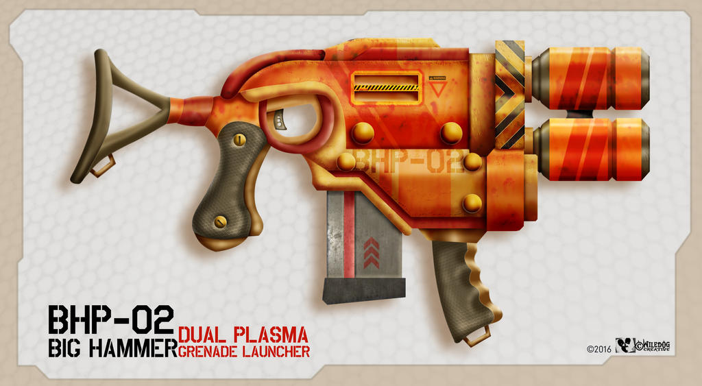 Big Hammer Grenade Launcher by wiledog