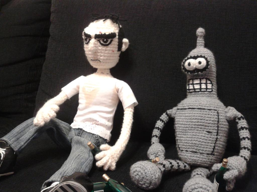 Trevor and Bender! by Coldestblood