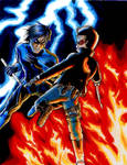 Dick VS Jason by ShikoSyaoran
