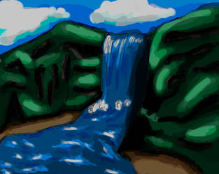 Waterfall Concept by Gawbad