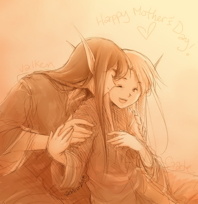 Happy Mother's Day by Achiru-et-al