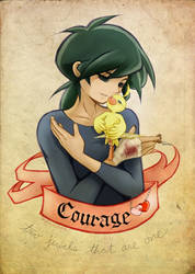 Courage . by Achiru-et-al